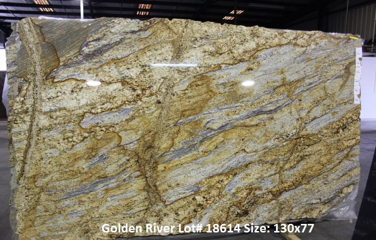Yellow Moon Granite Slab : Bay area granite countertops yellow moon